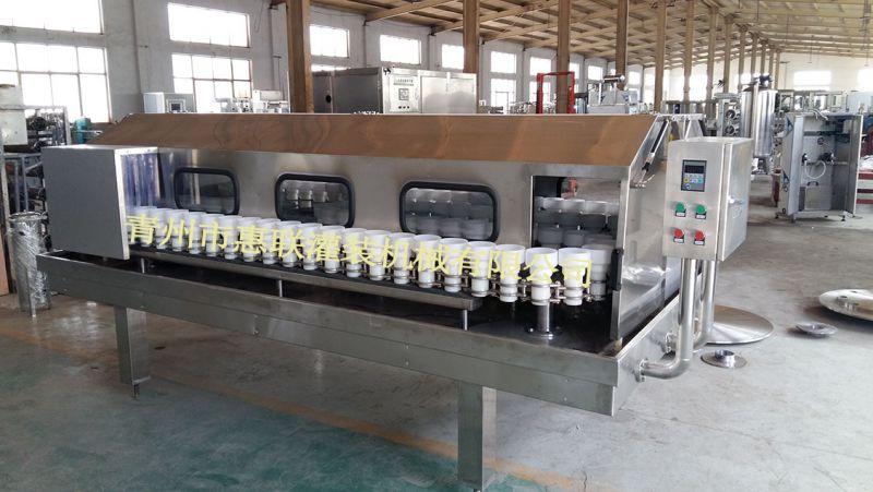 六轮冲瓶机 单列链轨式洗瓶机