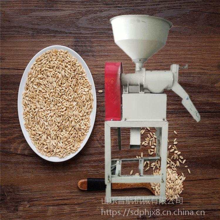 延庆作坊大量谷子打米机 普航水稻去皮磨米机批发 大功率小型碾米机