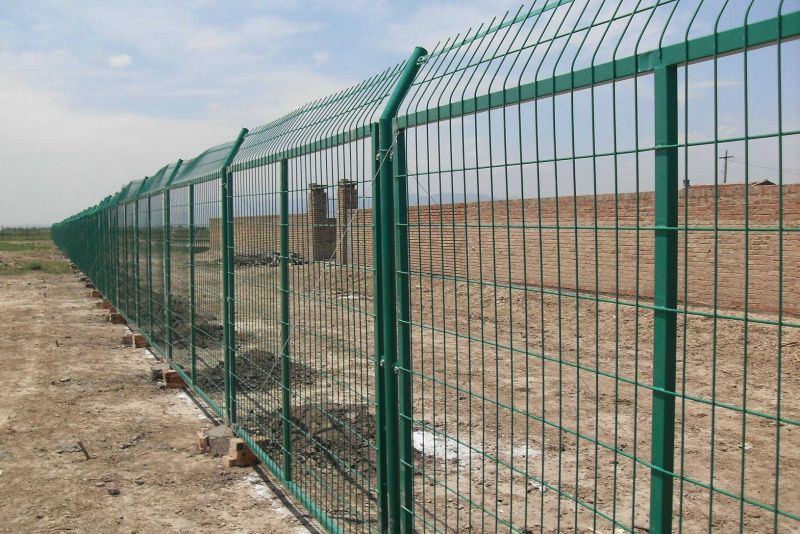 框架护栏网水库围墙道路围墙扶贫护栏祥筑直营