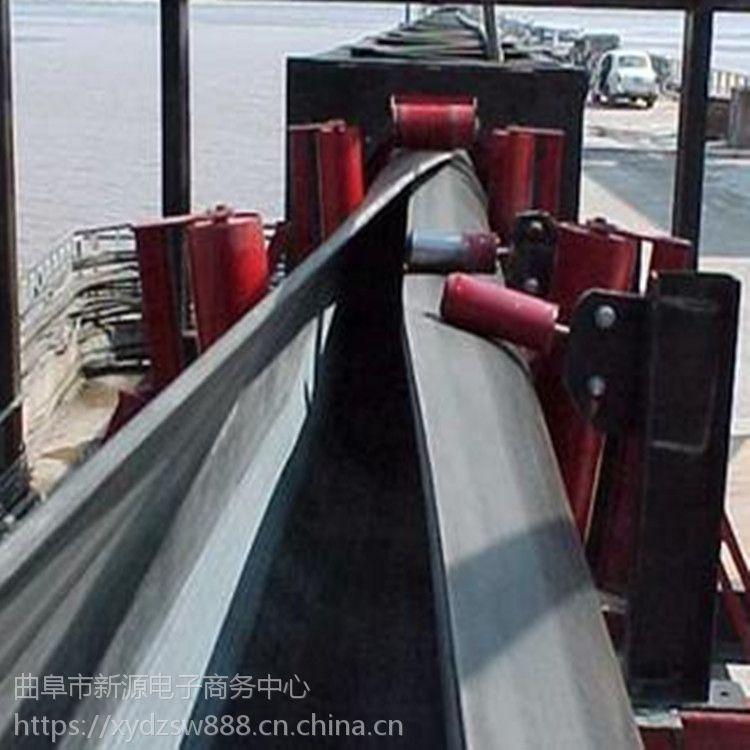三亚管状皮带机 输送煤炭绿色环保