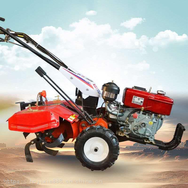 厂家直销农用土地耕地整理机 高效节能大马力旋耕机 宏程汽油柴油旋耕机