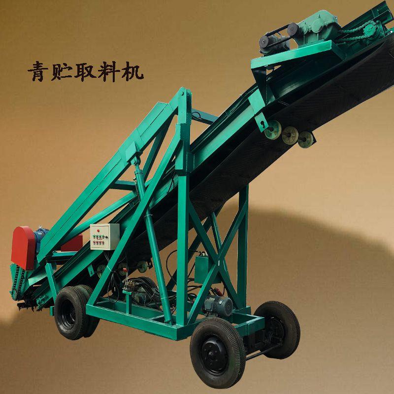 省劳力的青储取料机 方便快捷的取草机 皇竹草粉料取料机
