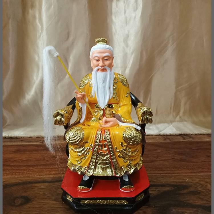 河南神像佛像总厂 道教三清佛像 太上老君 元始天尊神像厂家