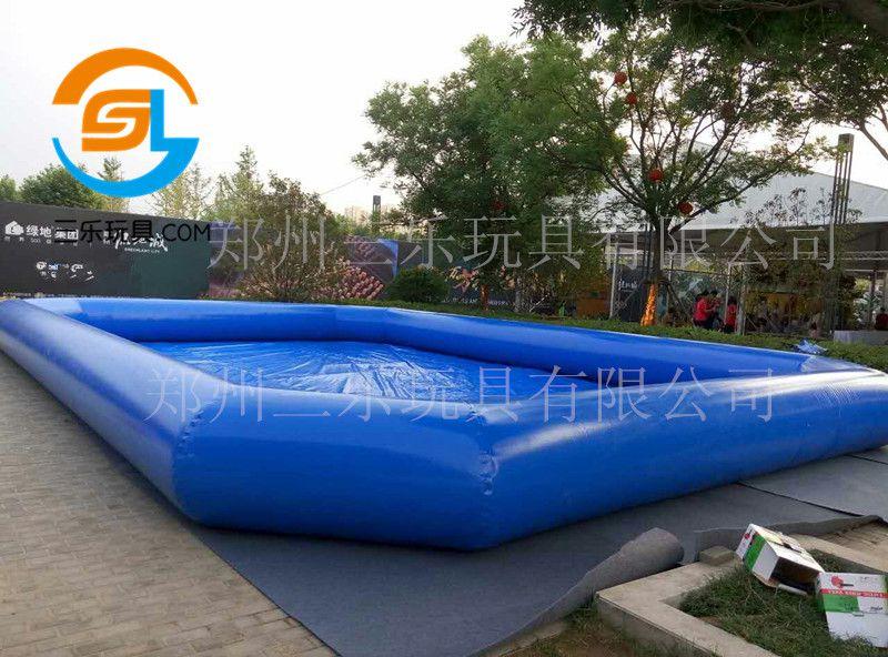支持订制充气水池游泳池多功能游乐