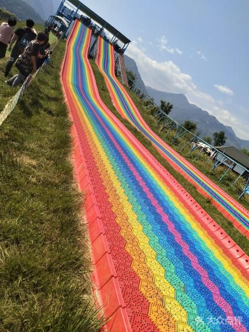 七色彩虹滑道 旱地滑雪