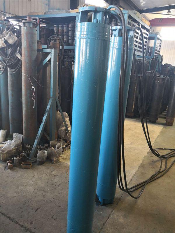 耐高温深井泵选型_小直径高扬程潜水泵_温泉井用热水潜水泵价格