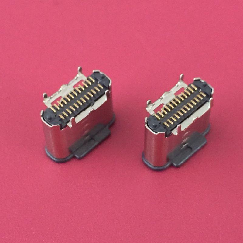 TYPE-C母座工厂产线全CCD检测