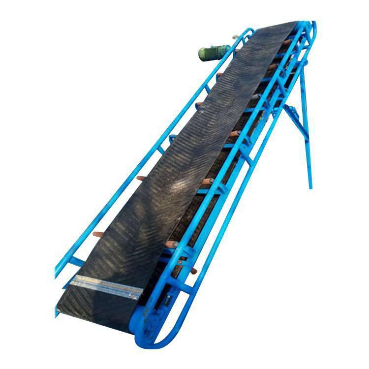 梅州原装皮带输送机制造厂 厂家直销V型粮食装卸车皮带输送机