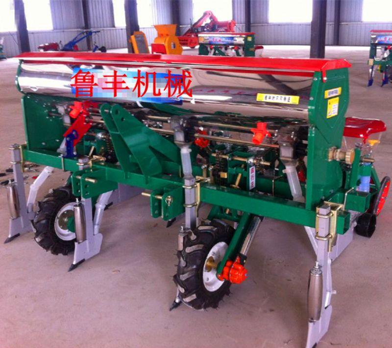 玉米播种机 玉米播种机视频 悬浮式玉米精播机