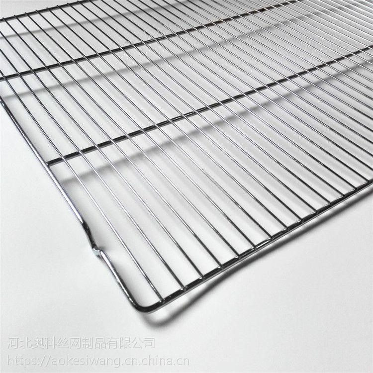 奥科常年供应日韩一次性电镀烧烤网 方形直条带脚烧烤架
