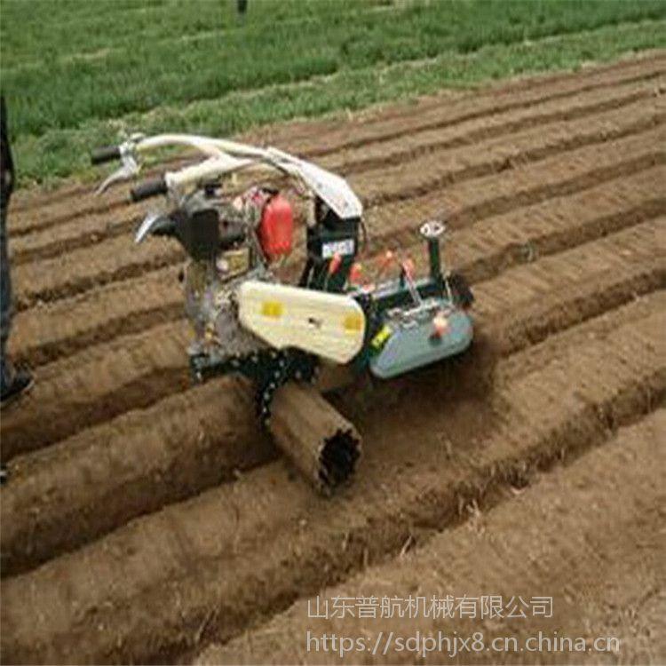 农用自走式大葱培土机 柴油田园管理机 普航除草机批发