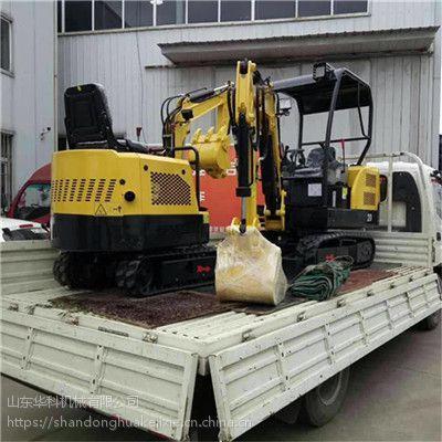 山东华科机械 小型履带式挖掘机 果园挖沟机
