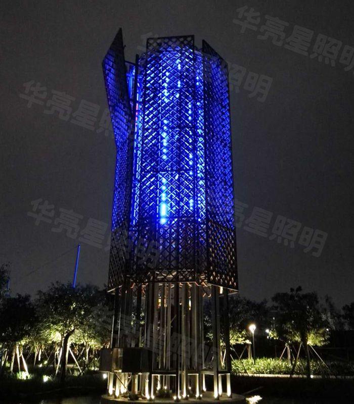 led线条灯厂家dmx512工程灯具全彩户外防水楼体亮化设计