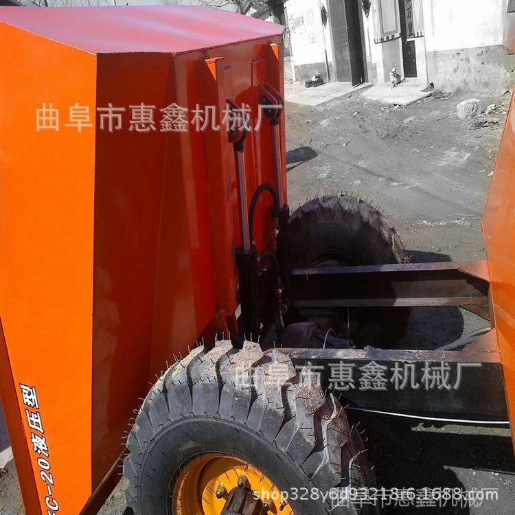 1吨无蓬柴油自卸车 韶关工地运输物料专用车 摩加迪沙供应前卸式翻斗车