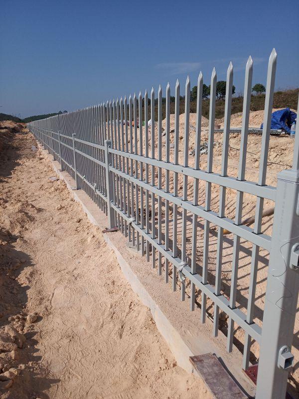 广州粤芯半导体技术工程厂房栅栏围墙护栏质量检验