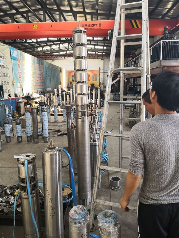 不锈钢深井泵_耐腐蚀不锈钢316潜水泵_白钢潜水泵