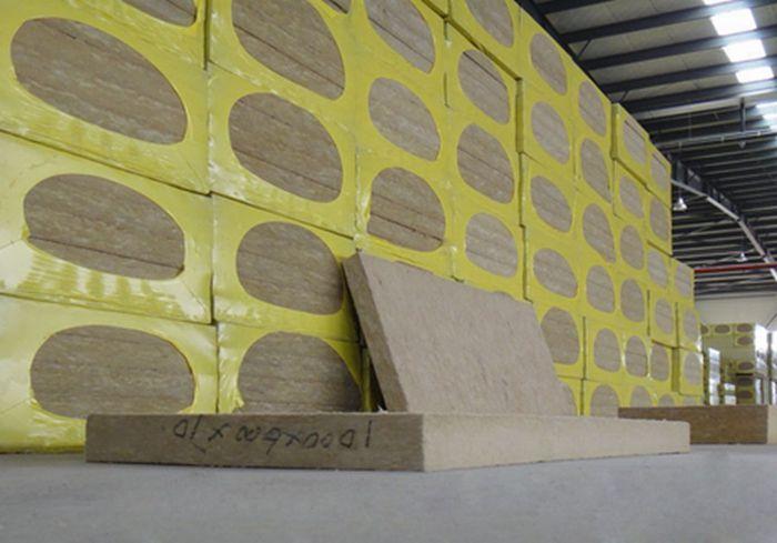 幕墙保温岩棉板供应 双面插丝保温岩棉板VJ76