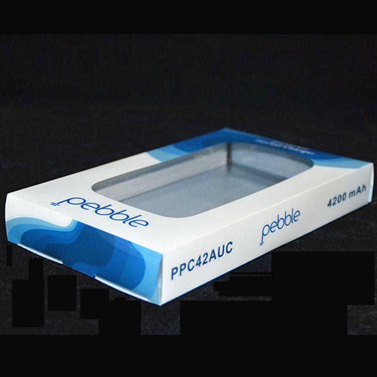 充电宝PVC透明包装盒定做电子产品包装盒 塑料食品包装盒批发