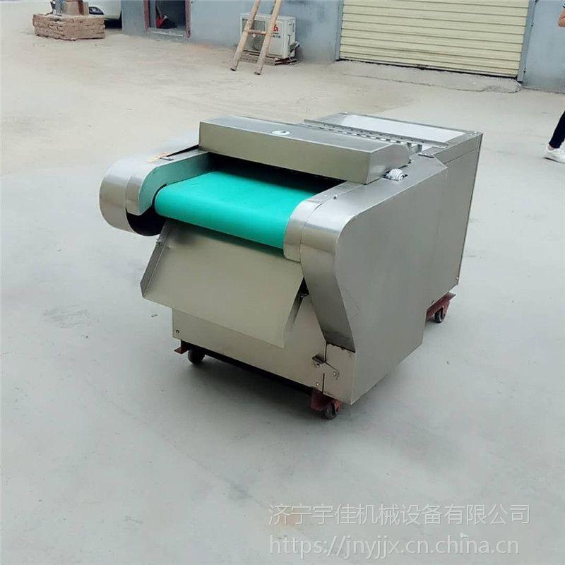 面筋豆腐卷切片机 宇佳商用电动豆腐皮切丝机 河南熟猪皮切丝机