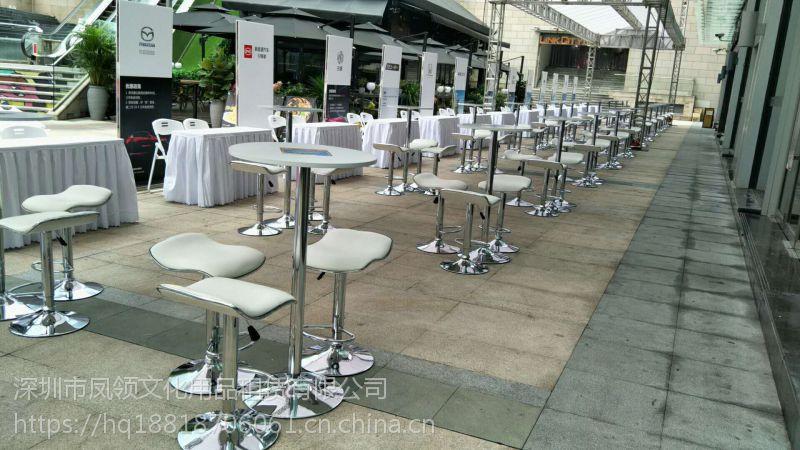 深圳高脚桌大圆桌单人沙发吐司凳方吧椅沙发转椅出租
