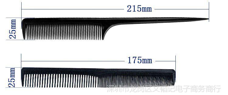 土豆梳排骨卷发图文咖喱专用吹头发蓬松梳子抓家用男士工具排骨图片