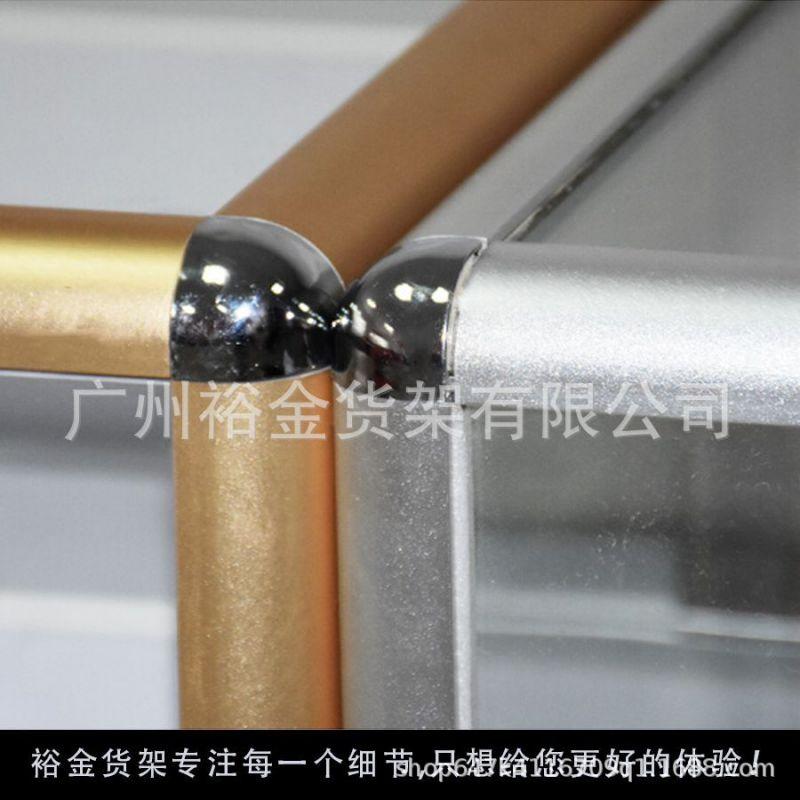 钛合金玻璃展柜 珠宝化妆品产品精品展示柜 柜子 展示 烟柜定制