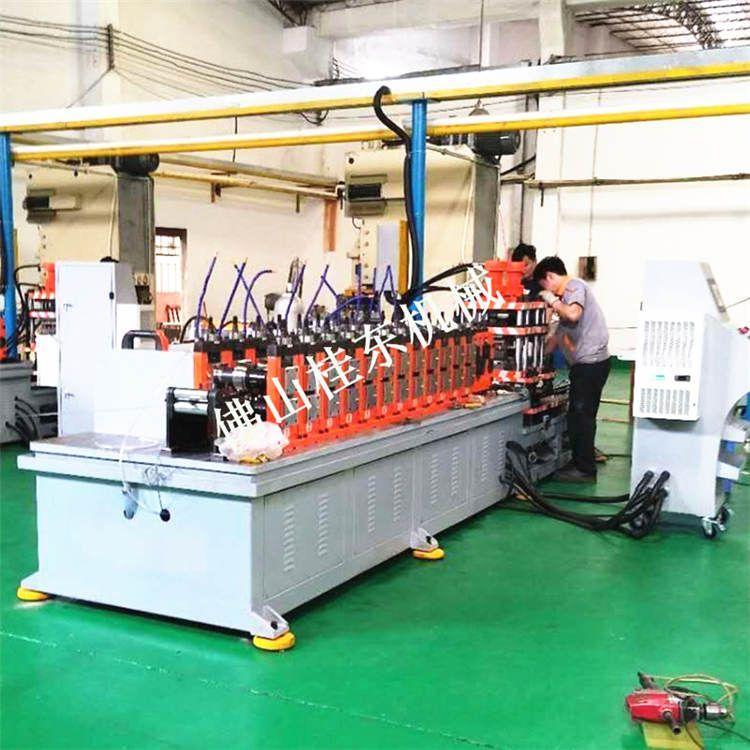 浙江导轨机厂家重型导轨直线滑槽移门c型钢冷弯设备