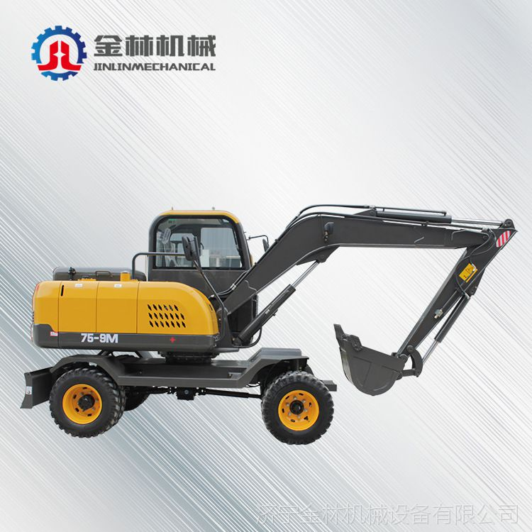 厂家直销液压挖掘机 工程机械轮胎挖掘机