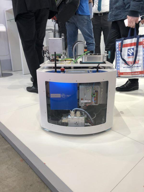改造叉车agv 瑞士Bluebotics激光导航 ANT系统