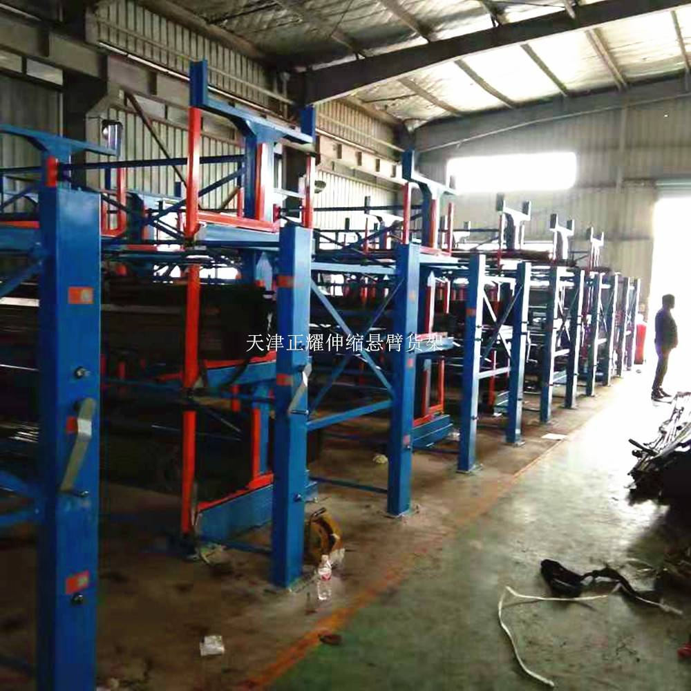 江苏钢材货架尺寸 钢材库配套货架形式 存取机械化