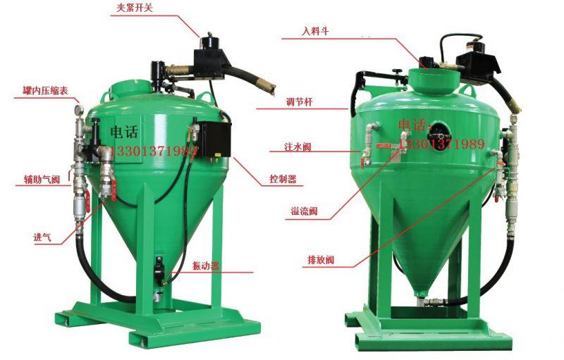 磨砂与水混合高压无尘水混喷砂设备