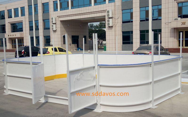 达沃斯聚乙烯围栏挡板整体加工