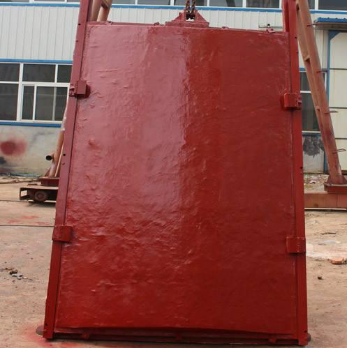 鑫川厂家1000x1000反向受压铸铁镶铜闸门