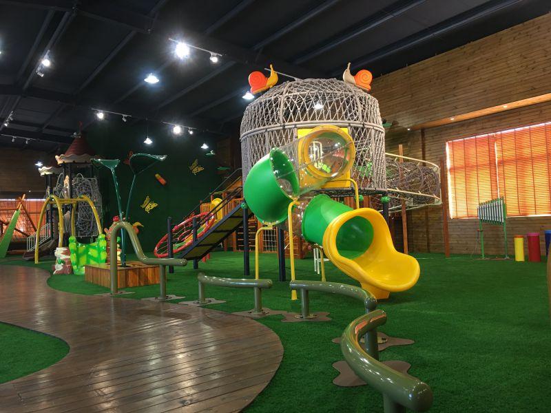 幼儿园大型组合滑梯宝宝游戏互动儿童户外木质拓展游乐设备绿森堡