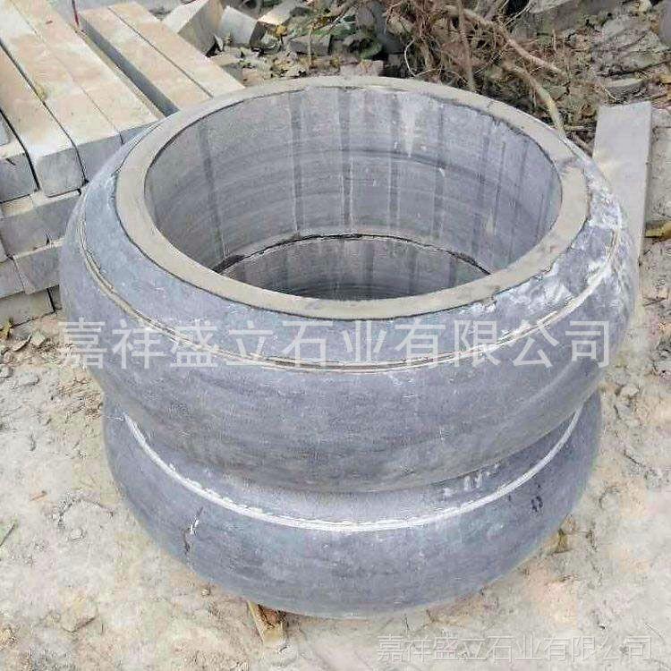 石雕做旧柱墩 石雕柱墩石价格 石雕围柱石厂家
