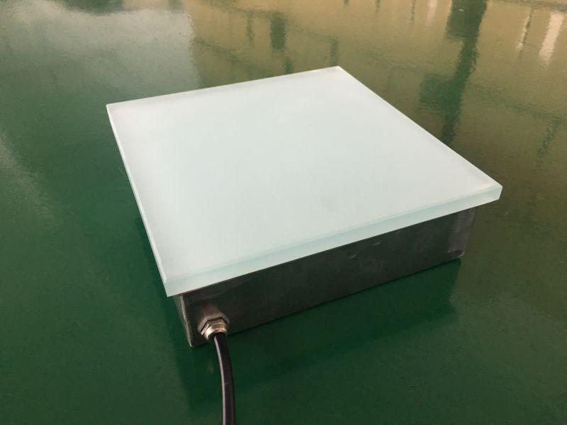 LED方形地砖灯无缝对接弧形