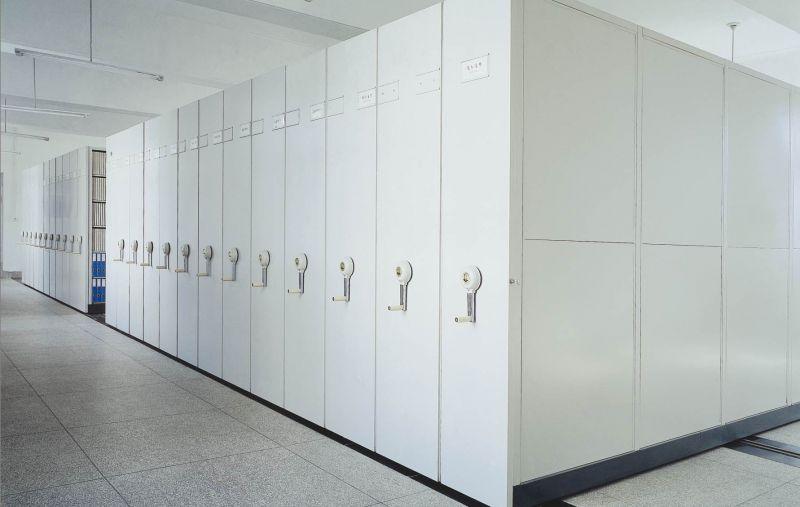 移动档案室密集柜智能电动密集架财务凭证柜病理架全封闭密集