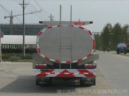 厂家销售 东风多利卡3.856排量牛奶运输车 食品级不锈钢鲜奶运输车