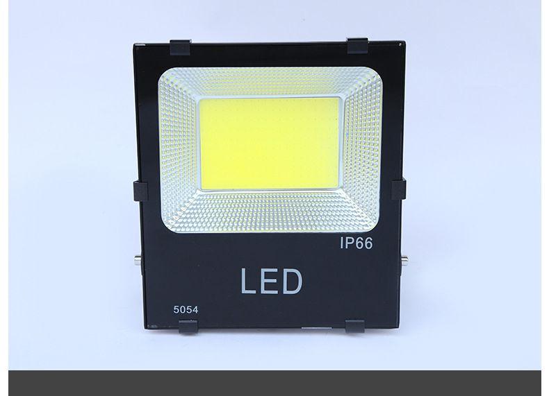 全铝壳led投光灯户外广告牌照明灯50W100W150W多规COB批发