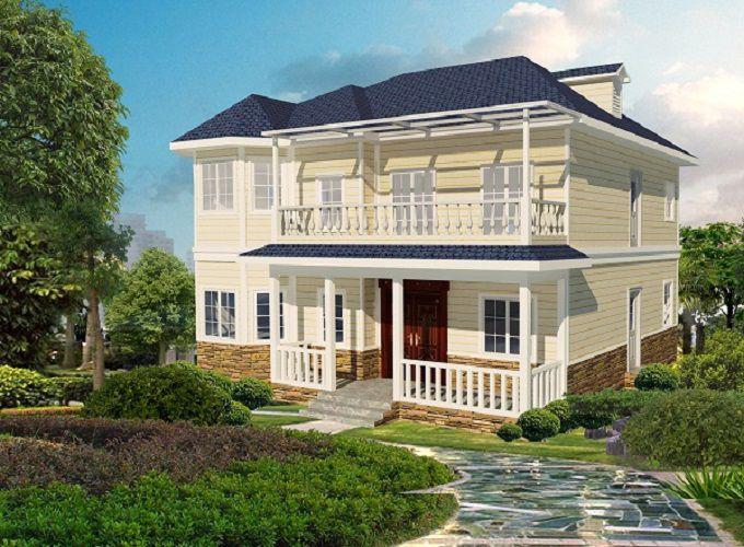 278㎡私人订制农村别墅,五室三厅,人口多的好选择