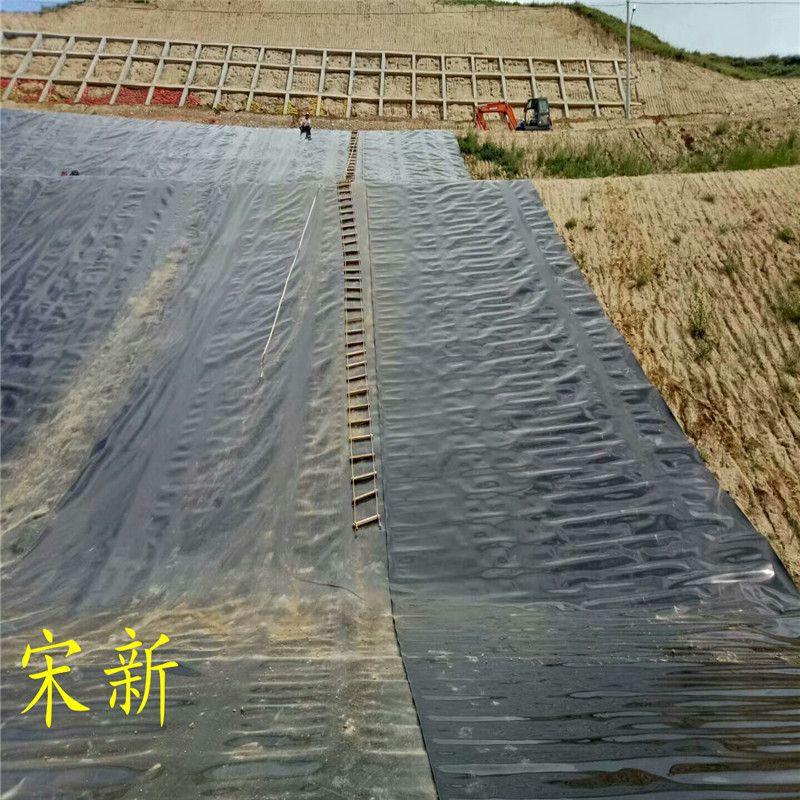 山东鱼塘0.5毫米防渗膜每平米价格