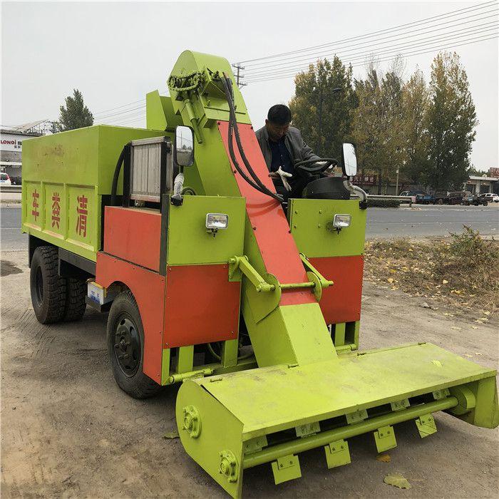 山东省生产清粪车厂家 养牛场用柴油刮粪车