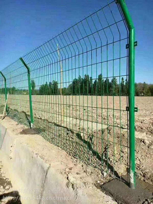 2018热销高速公路圈地护栏网 框架式临时防护铁丝网 支持定制 修改