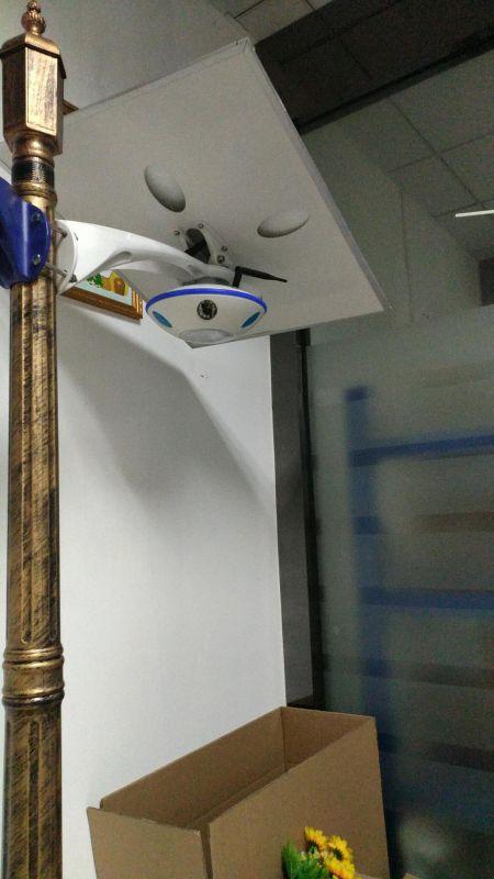 太阳能监控一体灯安装教程