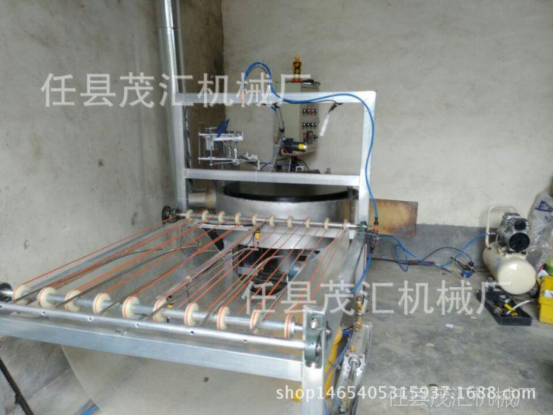 山东杂粮铸铁鏊子炉 整套设备全自动型燃气煎饼机免费送教学图片