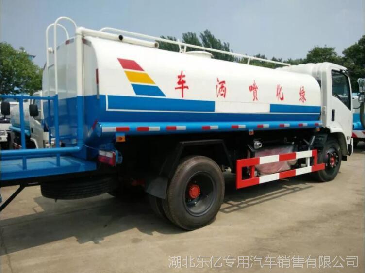 【洒水车】厂家直销东风8吨国四标准洒水车 园林绿化喷洒车随州
