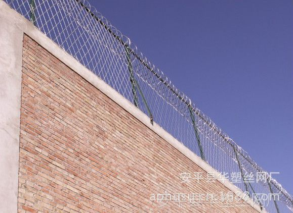 【厂家直销】防爆围栏、监狱护栏网、围墙刺绳护栏、防攀护栏网