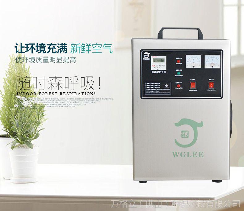 水冷空气源10g手提式臭氧发生器消毒机空间消毒水处理除异味