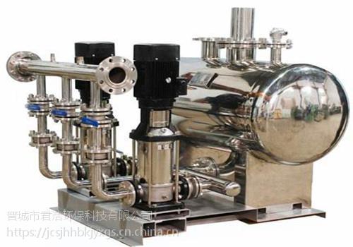 厂家直销恒压供水设备 变频供水设备价格