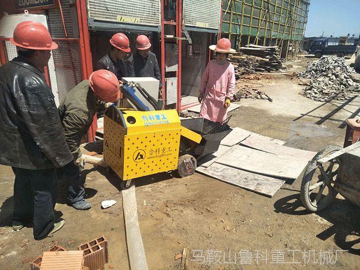 江苏二次结构泵合作通州建上城府邸项目